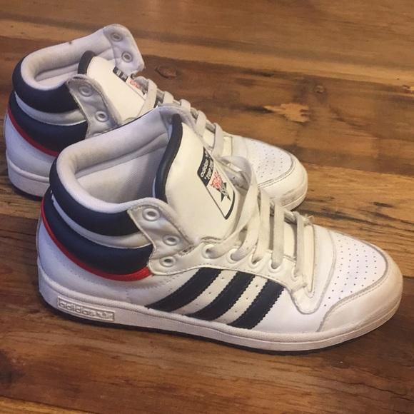 le adidas top ten delle scarpe da ginnastica poshmark